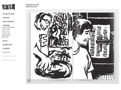 Gustavo: ilustrador, diseñador y un montón de cosas más.