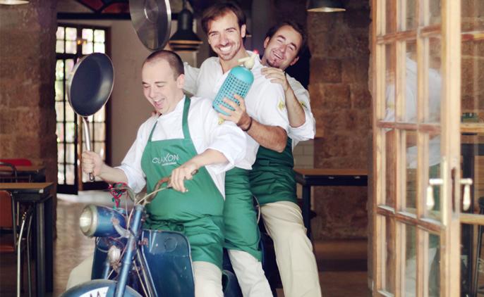 Nuestro cliente CLAXON, cruce de cocinas, restaurante revelación de 2013.