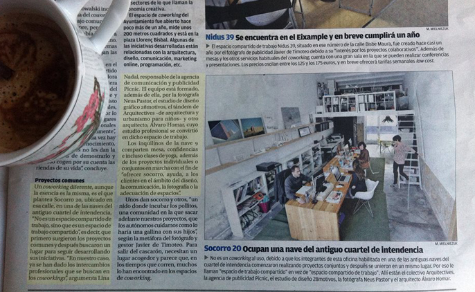 coworking y networking.