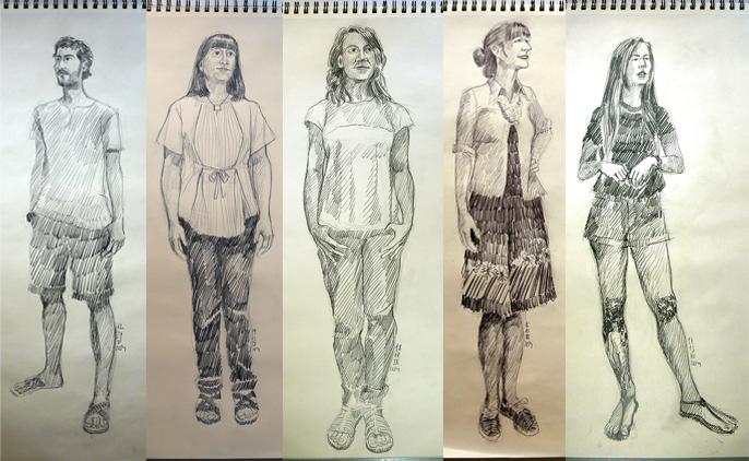 Diario de retratos por Iván Solbes