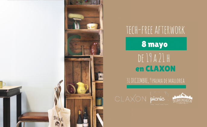 Afterwork tech-free en claxon