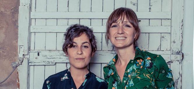 Aida Moyano y Lina Nadal