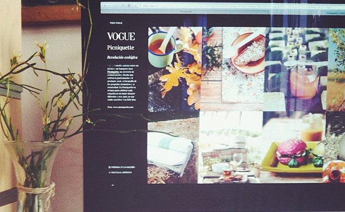 Picniquette en Vogue España